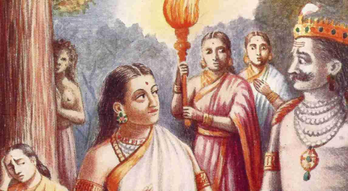 The Story of Mandodari And Sita