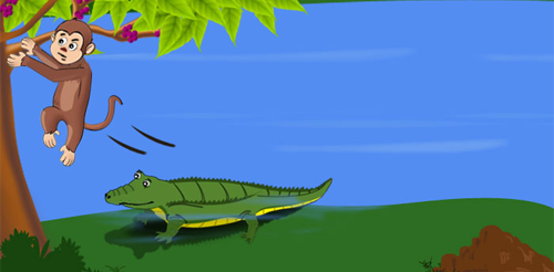 The Mischievous Crocodile