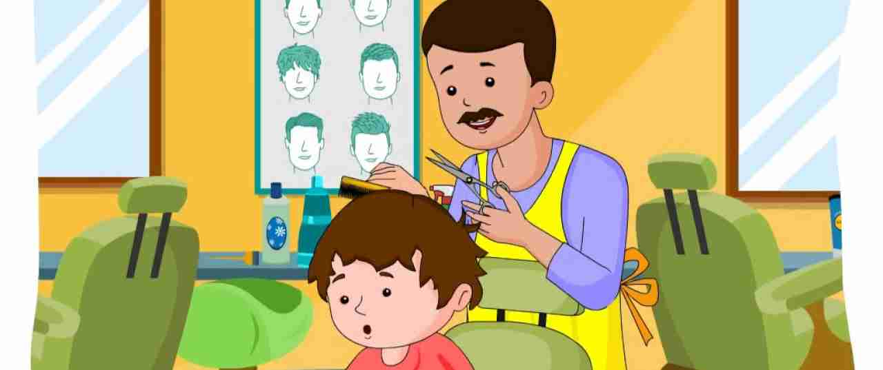 Johnny and the barber