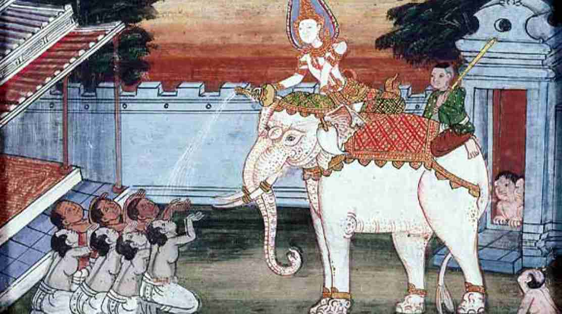 The King's white elephant