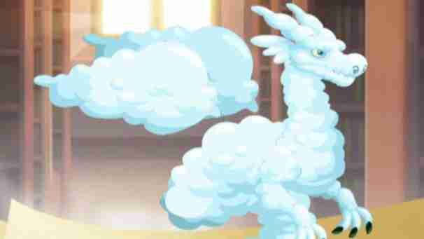 The cloud dragon