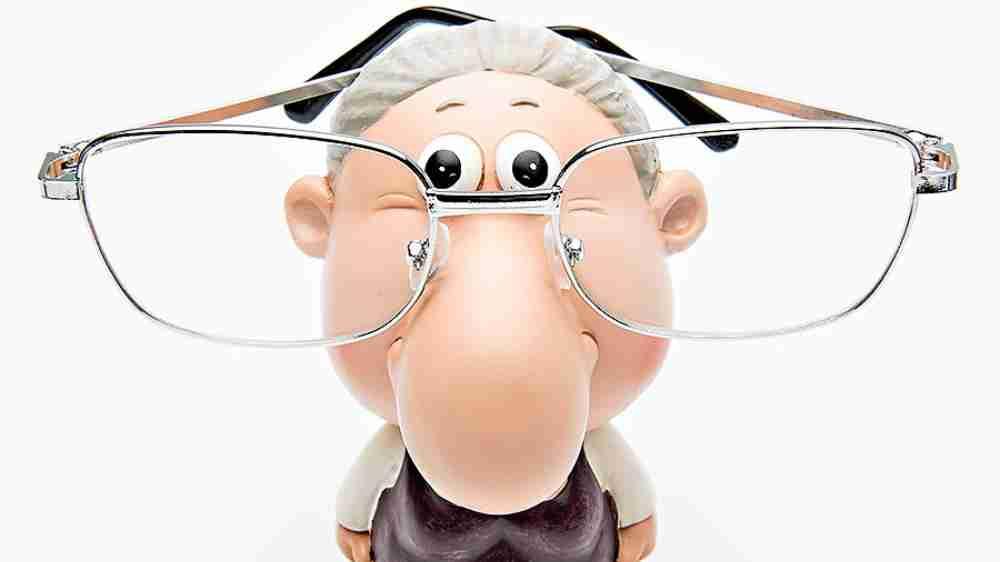 Grandmother's glasses