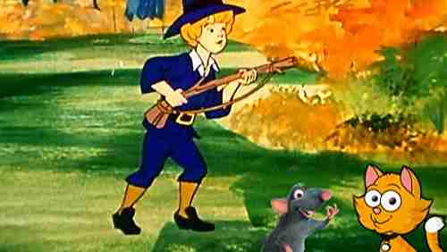 The cat, the rat, and the hunter