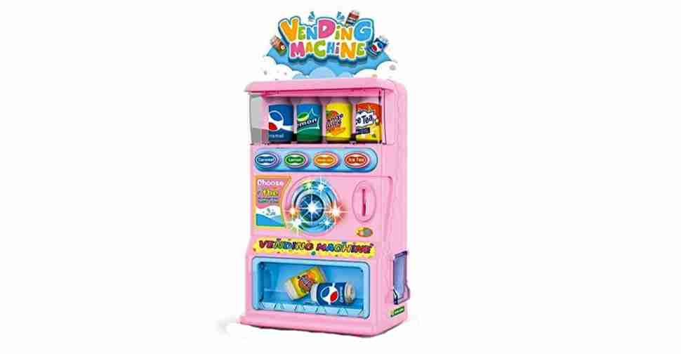 Beverage Vending Machine Toy Set