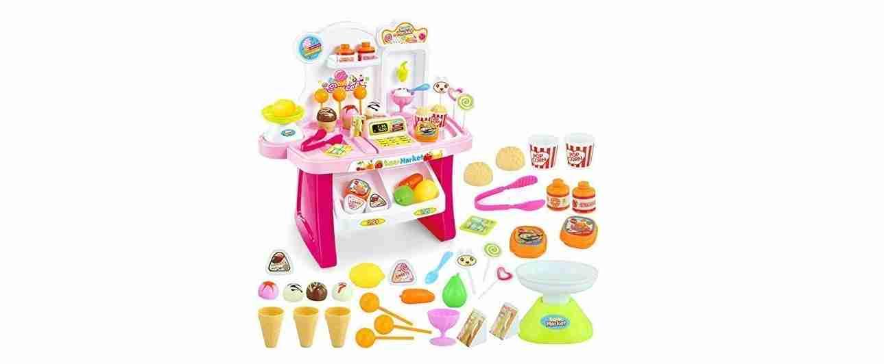 Mini Supermarket Toy Set