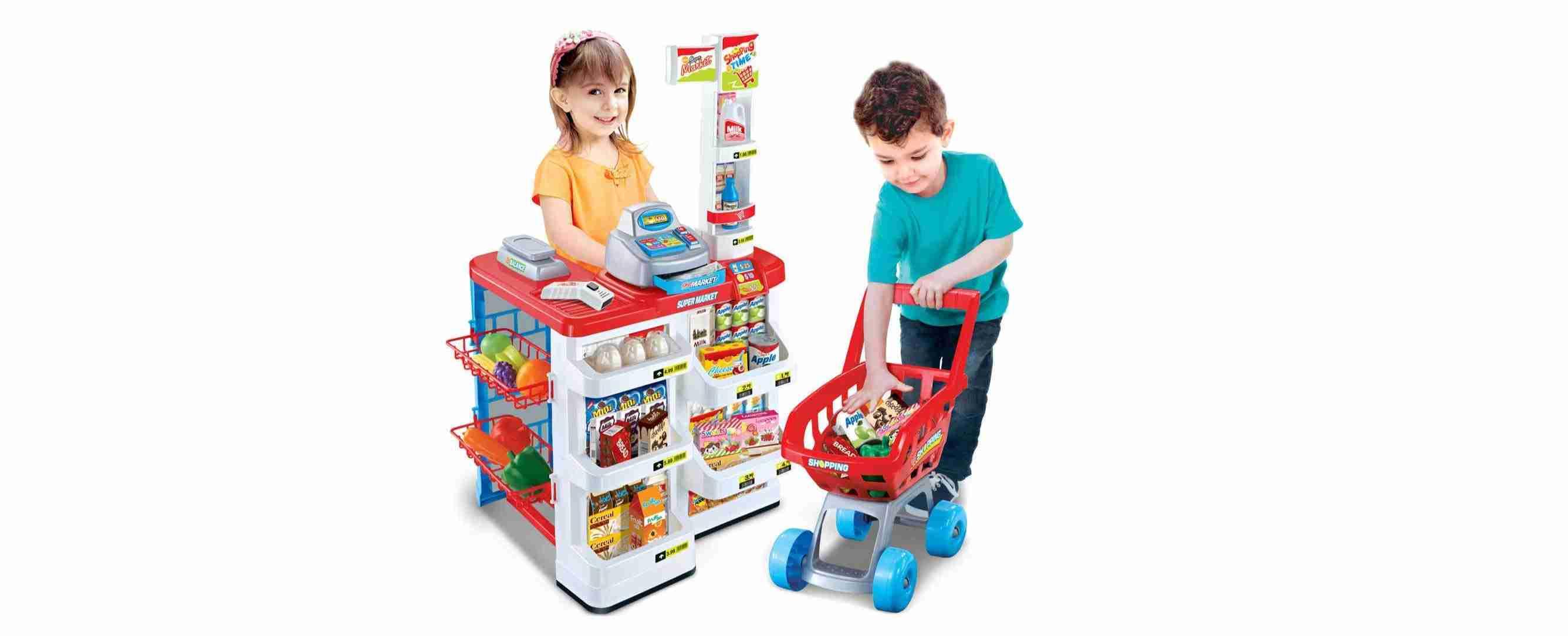 Supermarket Toys Set