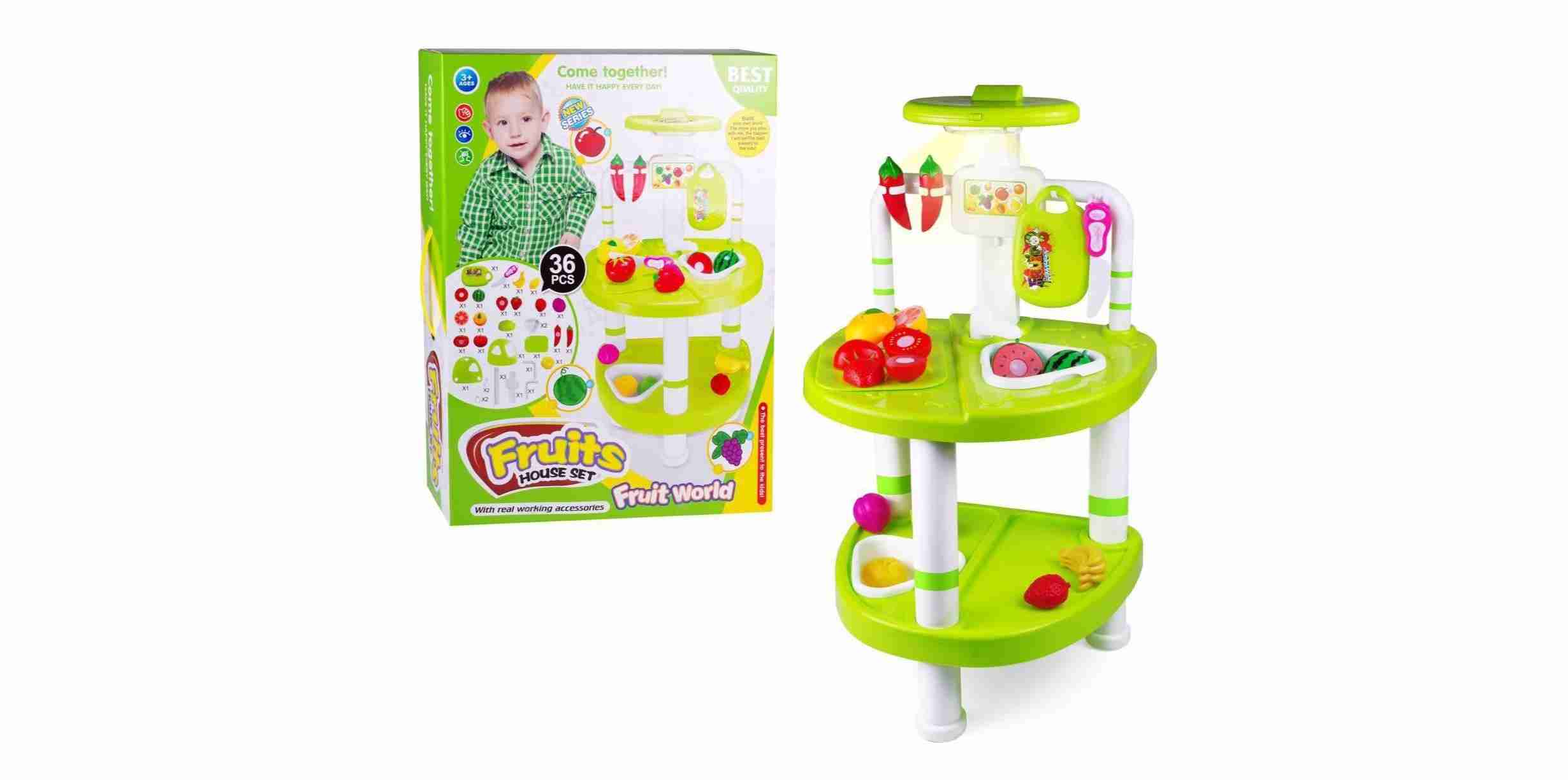 Vegetables And Fruits Cutting Set