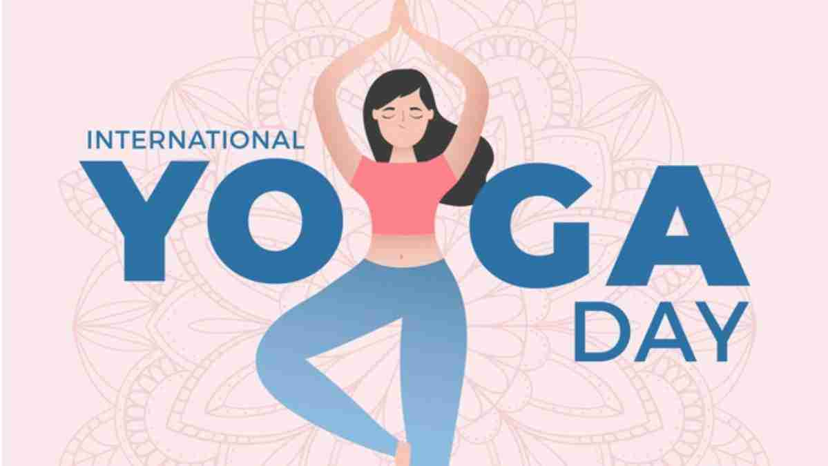 International Day of Yoga with kids