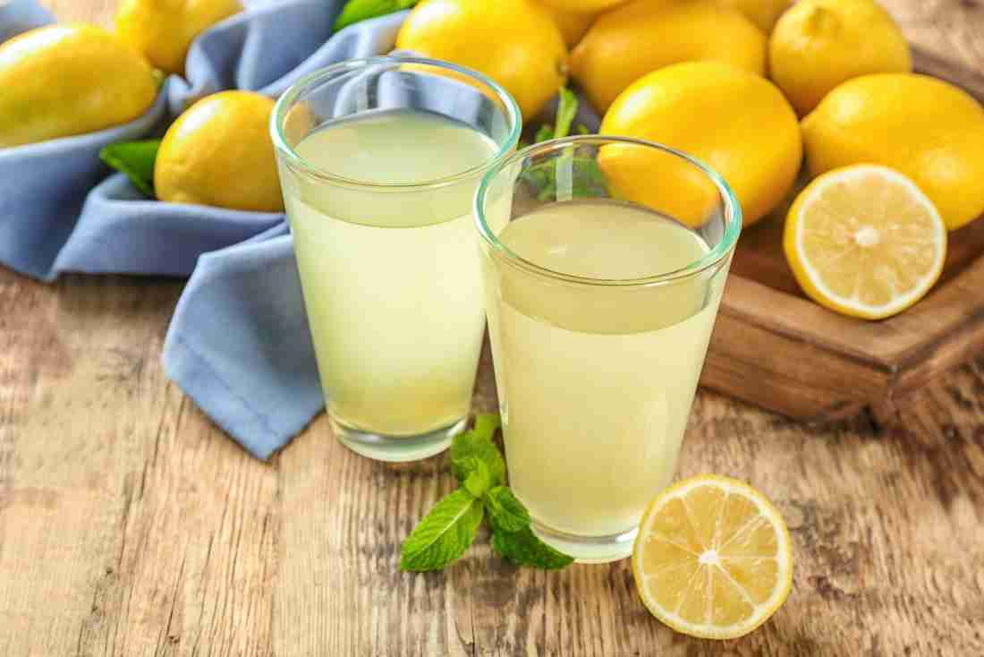 Lemon water for child's oral heath