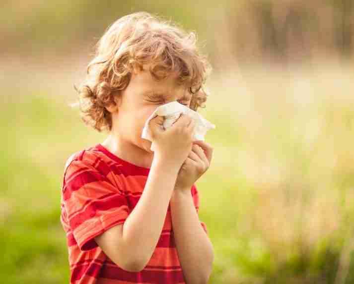 what is allergic rhinitis in children