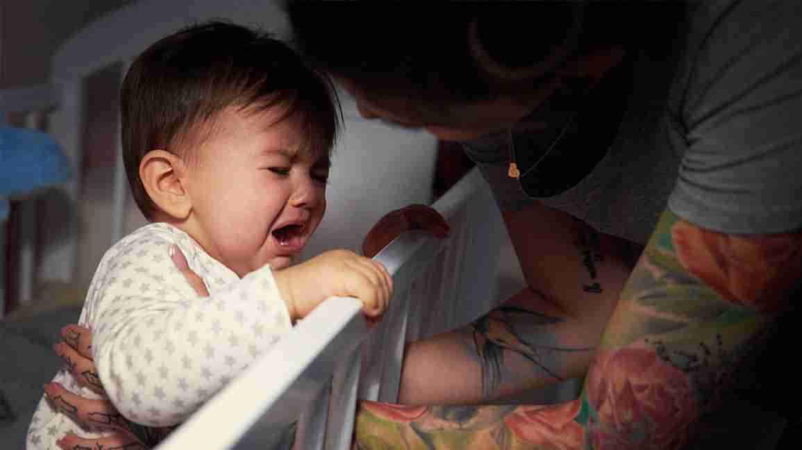 Child not sleep in the night