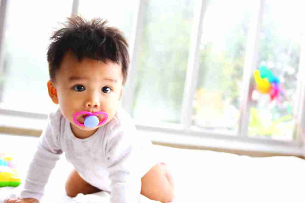 Can pacifier affect my child's teeth