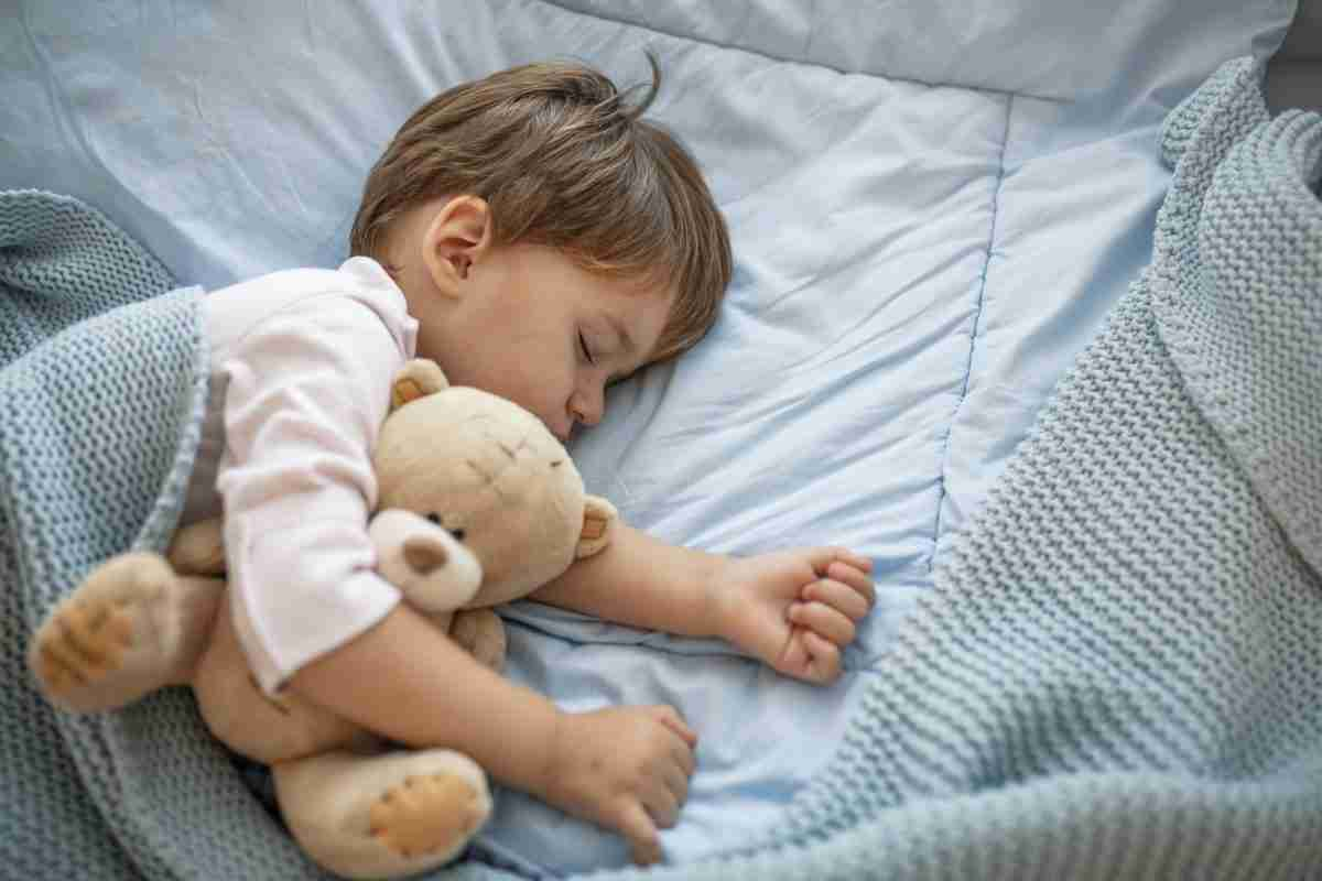 child sleeping all the time