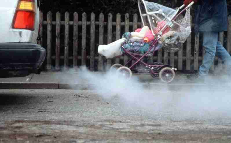 can car exhaust cause allergies