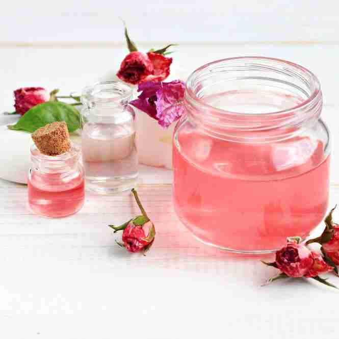 is rose water harmful for kids
