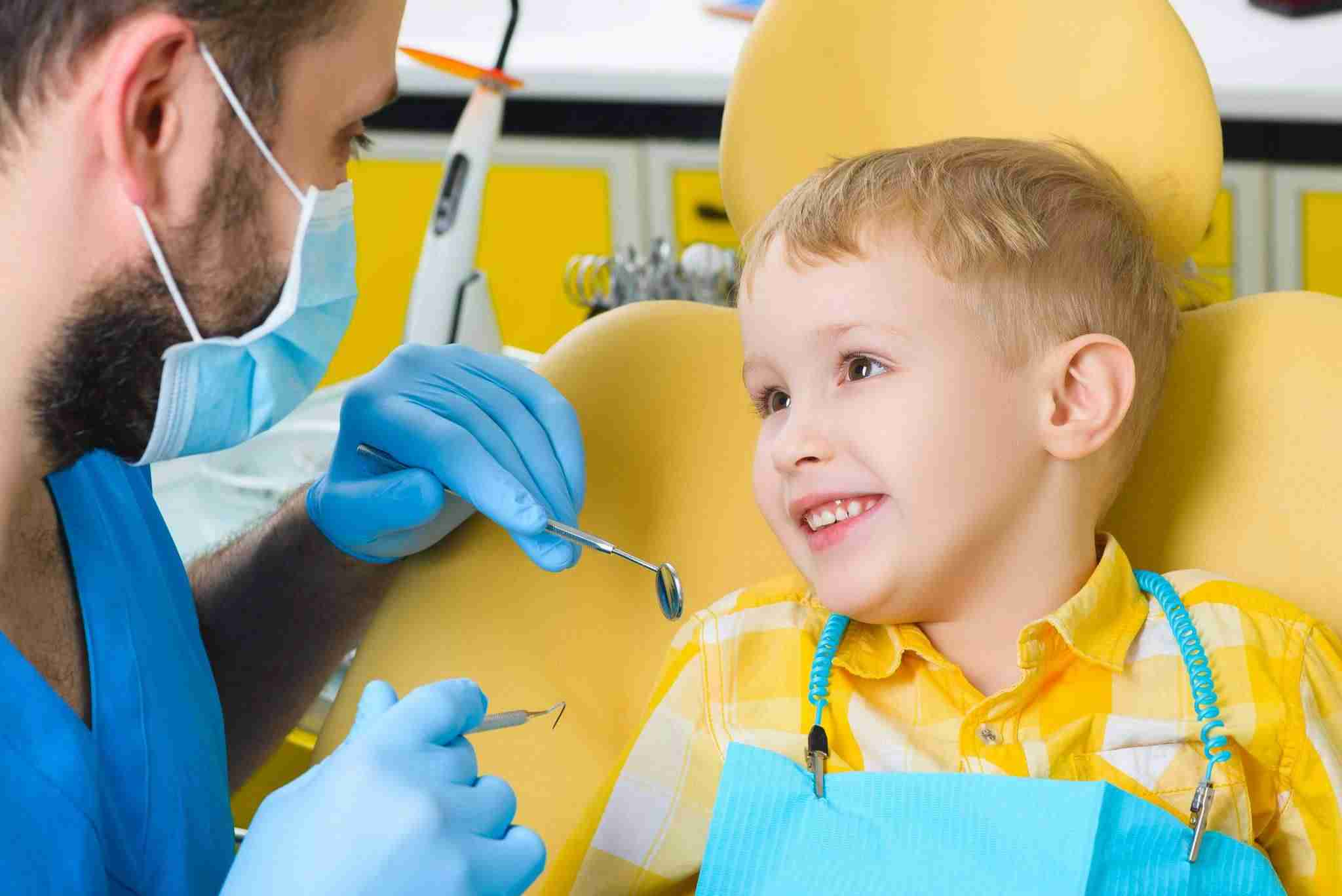 first dentist visit for my child