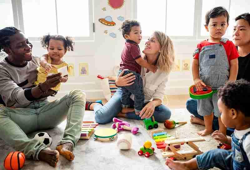 Should I accompany my child to preschool?