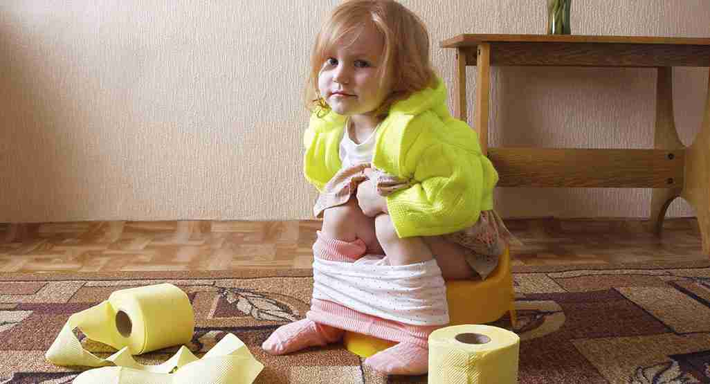 less urination and pooping in children