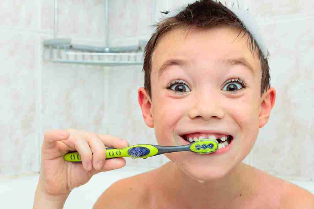 which tooth brush is safe for children to use