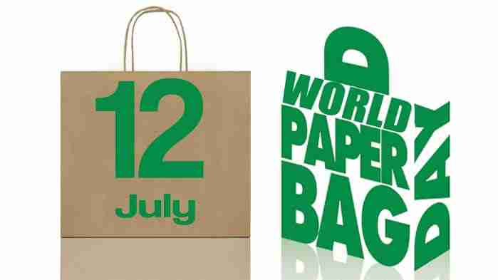 World Paper Bag Day with kids